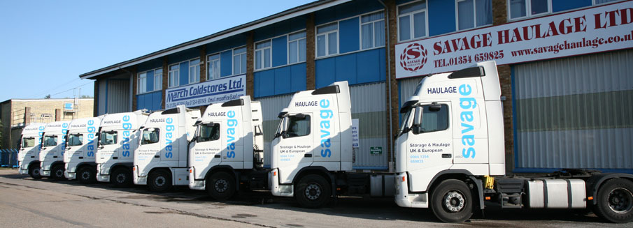 Savage Haulage Fleet